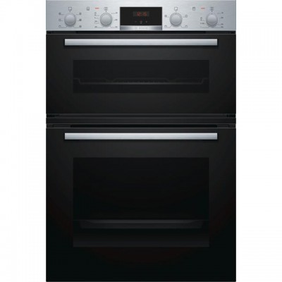 Save £200 at AO on Bosch Serie 2 MBS133BR0B Built In Double Oven - Stainless Steel - A/B Rated