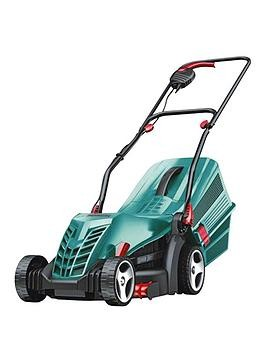 Save £16 at Very on Bosch Rotak 34 R Corded Rotary Lawnmower (34Cm Cutting Width)