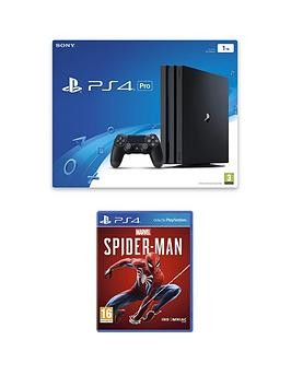 Save £50 at Very on Playstation 4 Pro 1Tb Ps4 Pro Bundle With Marvel'S Spider-Man