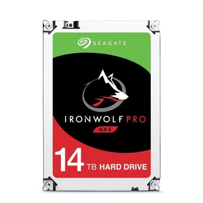 Save £44 at Ebuyer on Seagate IronWolf Pro 14TB NAS Hard Drive 3.5 SATA III 6GB's 7200RPM 256MB Cache