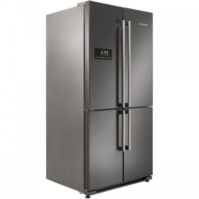 Save £220 at AO on Rangemaster SXS RSXS18DI/C American Fridge Freezer - Dark Silver - A+ Rated