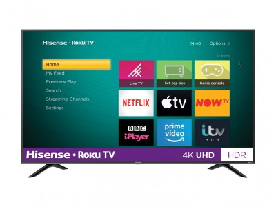 Save £80 at Argos on Hisense Roku TV 43 Inch R43B7120UK 4K Smart LED TV with HDR