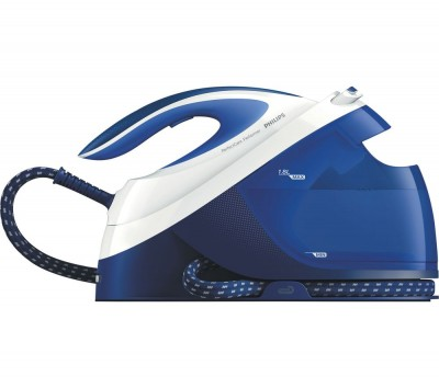 Save £24 at Currys on PHILIPS PerfectCare Performer GC8733/20 Steam Generator Iron - Teal & White, Teal