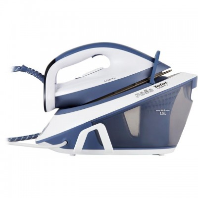 Save £19 at AO on Tefal Liberty SV7020 Pressurised Steam Generator Iron - Light Blue / White