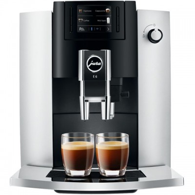 Save £136 at AO on Jura E6 15342 Bean to Cup Coffee Machine - Platinum