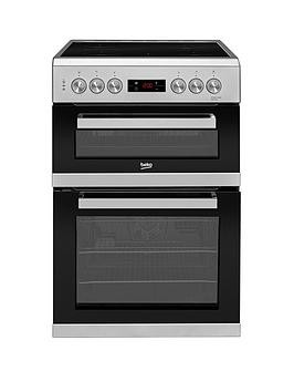 Save £40 at Very on Beko Kdc653S 60Cm Electric Cooker With Ceramic Hob - Silver
