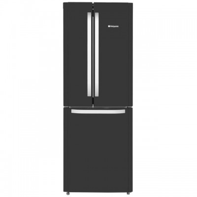 Save £70 at AO on Hotpoint Day1 FFU3D.1K 60/40 Frost Free Fridge Freezer - Black - A+ Rated