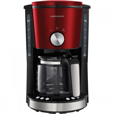 Save £10 at AO on Morphy Richards Evoke 162522 Filter Coffee Machine - Red