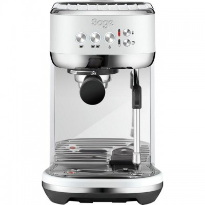 Save £180 at AO on Sage The Bambino Plus SES500SST4GUK1 Espresso Coffee Machine - Sea Salt