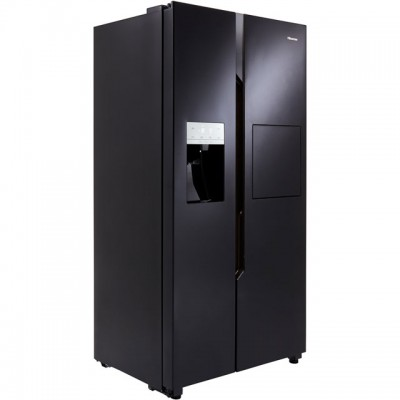 Save £120 at AO on Hisense RS694N4BB1 American Fridge Freezer - Black - A+ Rated