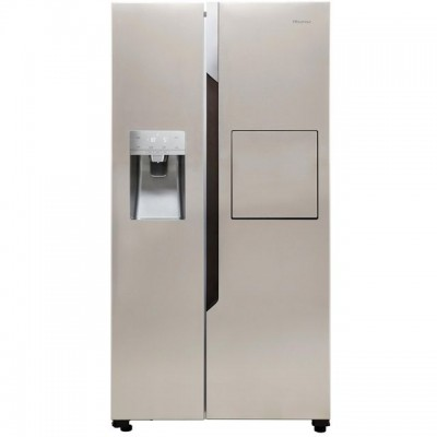 Save £120 at AO on Hisense RS694N4BC1 American Fridge Freezer - Stainless Steel Effect - A+ Rated