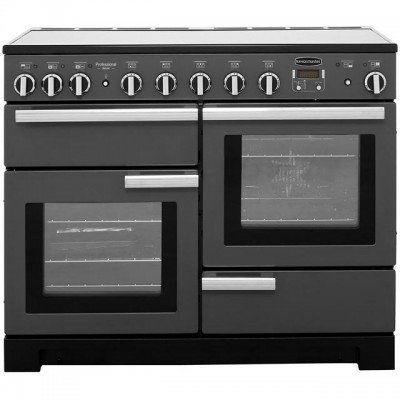 Save £356 at AO on Rangemaster Professional Deluxe PDL110EISL/C 110cm Electric Range Cooker with Induction Hob - Slate - A/A Rated