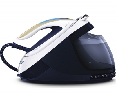 Save £85 at Currys on PHILIPS PerfectCare Elite GC9630/20 Steam Generator Iron - Navy & White, Navy