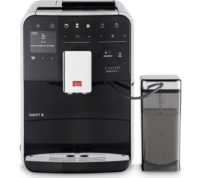 Save £101 at Currys on MELITTA Caffeo Barista TS F85/0-102 Smart Bean to Cup Coffee Machine - Black, Black