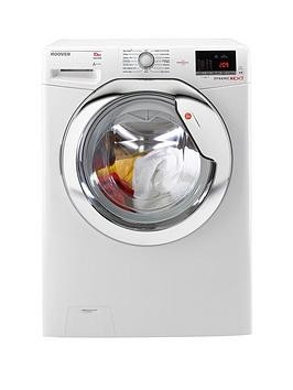 Save £90 at Very on Hoover Dynamic Next Dxoa610Hcw 10Kg Load, 1600 Spin Washing Machine With One Touch - White/Chrome