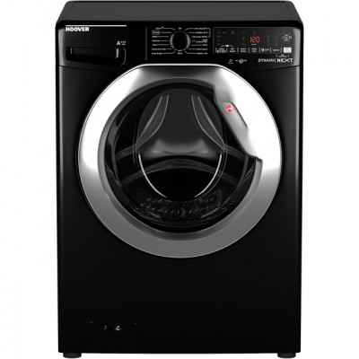 Save £70 at AO on Hoover Dynamic Next DWOA412AHC8B Wifi Connected 12Kg Washing Machine with 1400 rpm - Black / Chrome - A+++ Rated