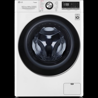 Save £100 at AO on LG Vivace F4V710WTS Wifi Connected 10Kg Washing Machine with 1400 rpm - White - A+++ Rated