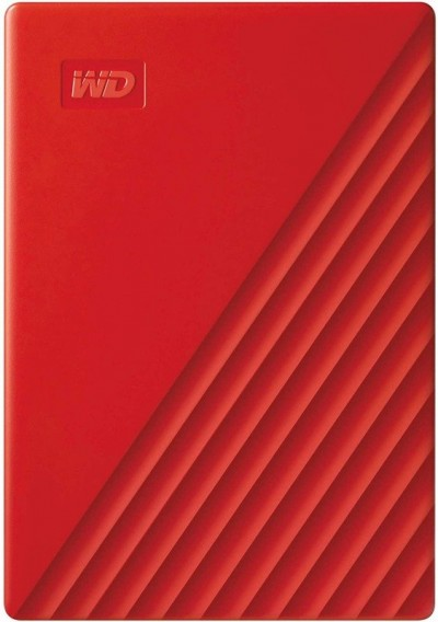 Save £35 at Ebuyer on WD 4TB My Passport Portable External Hard Drive, Red