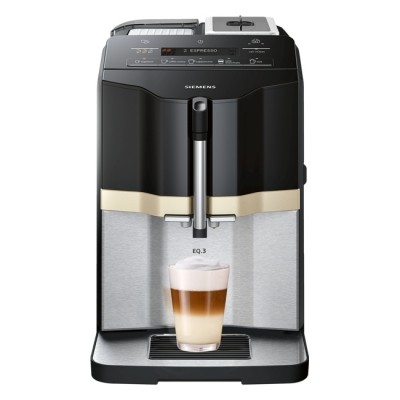 Save £100 at Appliance City on Siemens TI305206RW Fully Automatic Freestanding Coffee Machine - STAINLESS STEEL