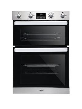 Save £90 at Very on Belling Bel Bi902Mfct 90Cm Built In Electric Double Oven With Bluetooth Connectivity - Stainless Steel