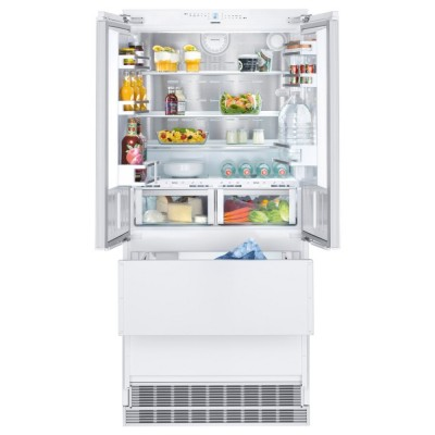 Save £1100 at Appliance City on Liebherr ECBN6256 91cm Integrated Biofresh Four Door Fridge Freezer