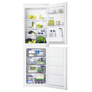 Save £175 at Wickes on Zanussi 50:50 Combi Fridge Freezer ZBB27640SV