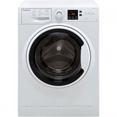 Save £60 at AO on Hotpoint NSWA943CWWUK 9Kg Washing Machine with 1400 rpm - White - A+++ Rated
