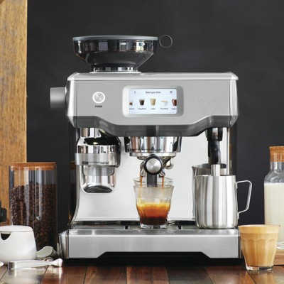 Save £200 at AO on Sage The Oracle Touch SES990BSS Bean to Cup Coffee Machine - Stainless Steel / Chrome