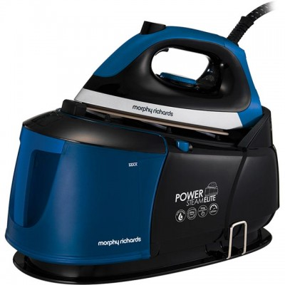 Save £81 at AO on Morphy Richards Power Steam Elite 332016 Pressurised Steam Generator Iron - Black / Blue