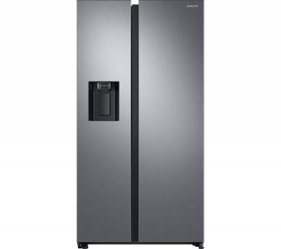 Save £170 at Currys on Samsung American-Style Fridge Freezer Matte RS68N8240S9/EU, Cream