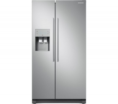 Save £130 at Currys on Samsung American-Style Fridge Freezer Metal RS50N3513SA, Graphite