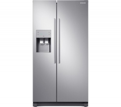 Save £170 at Currys on Samsung American-Style Fridge Freezer Inox RS50N3513S8/EU, Silver