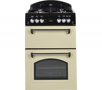 Save £80 at Currys on LEISURE CLA60GAC 60 cm Gas Cooker - Cream & Black, Cream