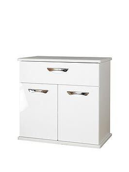 Save £20 at Very on Swift Neptune Ready Assembled High Gloss Compact Sideboard - White