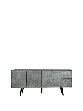 Save £50 at Very on Swift Berlin Low Sideboard/Tv Unit - Fits Up To 42 Inch Tv - Graphite
