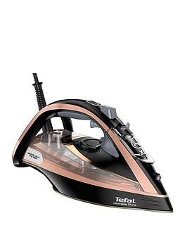 Save £51 at Very on Tefal Fv9845 Ultimate Pure Steam Iron - Black And Rose Gold