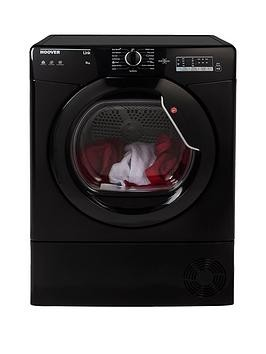 Save £40 at Very on Hoover Link Hlc8Lgb 8Kg Condenser Sensor Tumble Dryer With One Touch - Black
