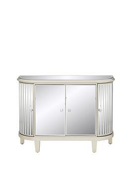 Save £50 at Very on Venetian 4 Door Curved Glass Sideboard