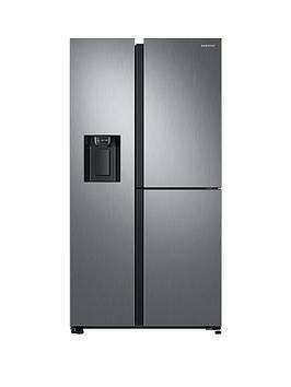 Save £200 at Very on Samsung Rs68N8670S9/Eu French Door Frost Free Fridge Freezer With Plumbed Ice, Water Dispenser - Matt Silver (Doorstep Delivery Only)