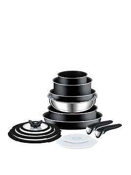 Save £20 at Very on Tefal Ingenio Essential Complete 14-Piece Pan Set - Black