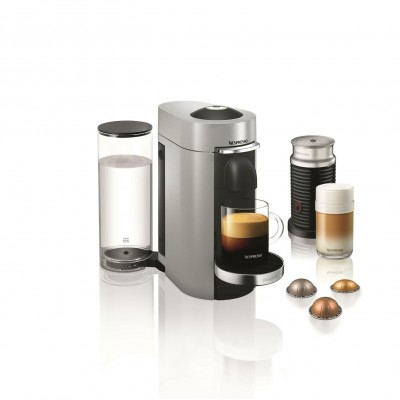 Save £70 at Argos on Nespresso by Magimix Vertuo Plus Pod Coffee Machine - Silver
