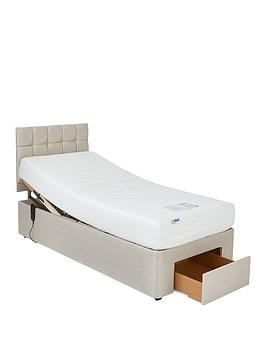 Save £130 at Very on Mibed Rainford Memory Mattress Adjustable Bed With Storage Options
