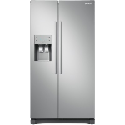 Save £170 at Appliance City on Samsung RS50N3513S8 American Fridge Freezer With Ice & Water - SILVER