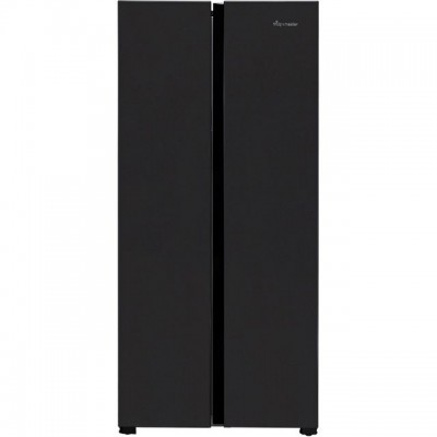 Save £50 at AO on Fridgemaster MS83430FFB American Fridge Freezer - Black - A+ Rated