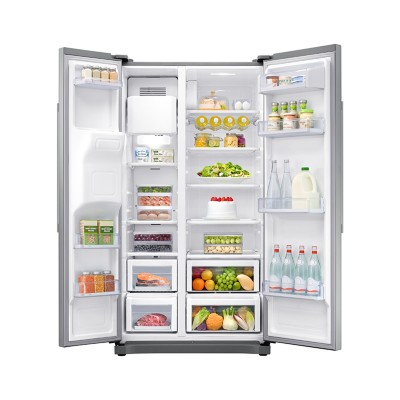 Save £180 at PRCDirect on Samsung RS50N3513SL A+ American Style Fridge Freezer, SpaceMax Technology