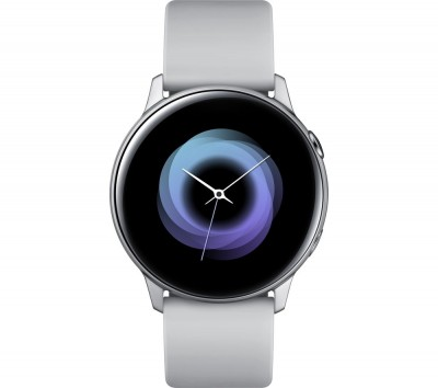 Save £60 at Currys on SAMSUNG Galaxy Watch Active - Silver, Silver
