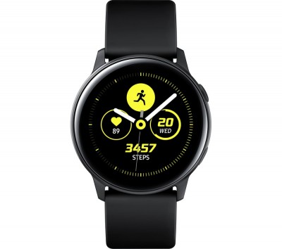 Save £60 at Currys on SAMSUNG Galaxy Watch Active - Black, Black