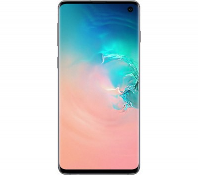 Save £120 at Currys on Samsung Galaxy S10 SIM Free - 128 GB, Prism White, White