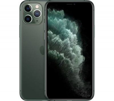 Save £125 at Currys on Apple iPhone 11 Pro - 256 GB, Midnight Green, Green