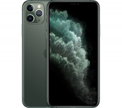 Save £125 at Currys on Apple iPhone 11 Pro Max - 64 GB, Midnight Green, Green